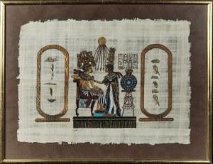 Lieble, Echnaton i Nefertiti - czyli przemiła pamiątka z Egiptu