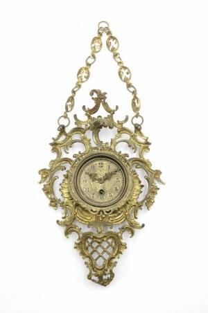 Zegar typu kartel neorokokowy