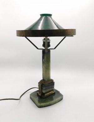 Lampa gabinetowa modernistyczna