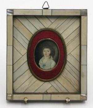 W. A. BOROWIKOWSKIJ, Miniatura: portret kobiety