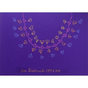 Jan Dobkowski - Bez tytułu, 1993 r.