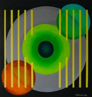 Andrzej Grabowski (ur. 1962), Circle No 4, 2021
