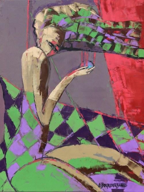 Elżbieta Boukourbane (ur. 1958), Jestem za kulisami, 2021