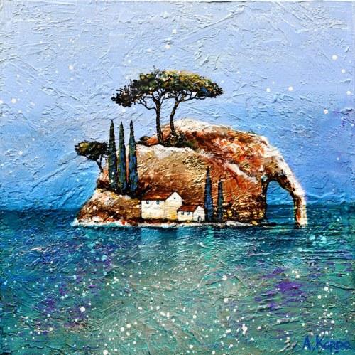 Alicja Kappa (ur. 1973), #01 Wyspy, 2021
