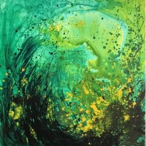 Joanna Wietrzycka (ur. 1978), Wild greenness, 2021
