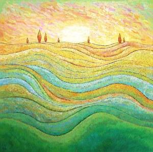 Monika Siwiec (ur. 1995), Zielone pastwiska, 2021