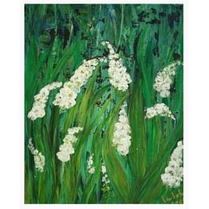 Izabela Drzewiecka (ur. 1966), Kwiaty wiosenne, 2021