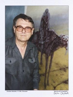 Czapliński Czesław, ZDZISŁAW BEKSIŃSKI, VI 1986, WARSZAWA