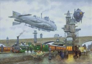 Voitekhovitch Vadim, ARRIVAL OF THE TRAIN, 2020