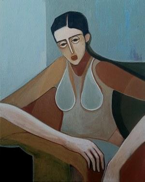 Iwona Birenbaum (Sacharz), Portret dziewczyny