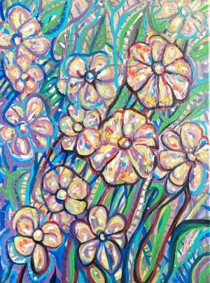 Urszula Szulborska, Kwiaty niebieskie