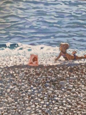 Anna Van Brussel, Zabawy na plaży, 2020