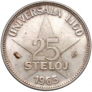 Medal, 25 steloj 1965, Zamenhof - twórca Esperanto