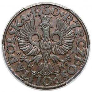 5 groszy 1930 - PCGS MS63 BN