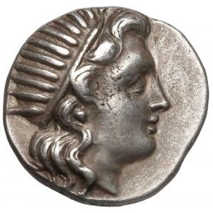 Grecja, Karia, Rodos (~188-170pne) Drachma