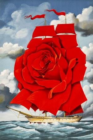 Rafał OLBIŃSKI (ur. 1943), Red Rose Ship, 2007