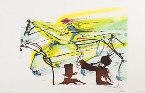 Salvadore DALI (1904 - 1989), Le Cheval de Course, 1983