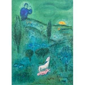 Marc CHAGALL (1887 - 1985), Daphne et Chloe, 1985