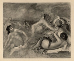 Pierre Auguste RENOIR (1841 - 1919), Baigneuses, 1919