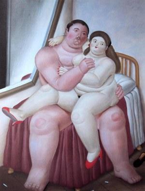 Fernando BOTERO (ur. 1932), Lovers, 1983