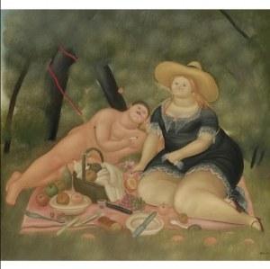 Fernando BOTERO (ur. 1932), Lunch on the Grass, 1983