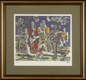 Fernand LEGER, Hommage a Louis David, 1948/1949