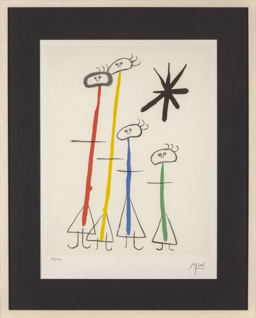 Joan MIRO (1893 - 1983), Parler seul, 2004