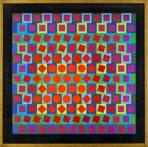 Victor VASARELY (1906 - 1977), Holovan-2, 1964