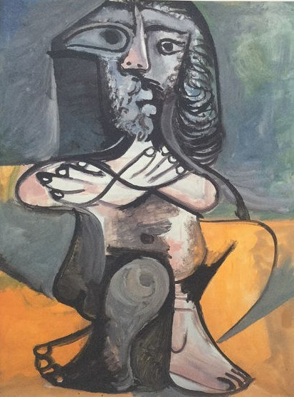 Pablo PICASSO (1881 - 1973), Barbu, 1995