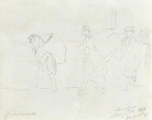 Jacek MALCZEWSKI (1854-1929), Scena rodzajowa, 1898
