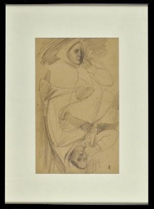 Artur MARKOWICZ (1872-1934), Szkic kobiety / Szkic dziecka