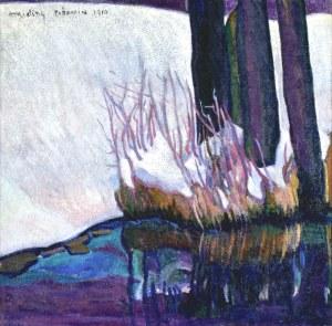 Mojżesz KISLING (1891-1953), Pejzaż z Poronina, 1910