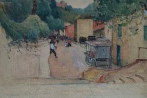 Stanisław JANOWSKI (1866-1942), Portofino, 1921 (?-słabo czytelne)