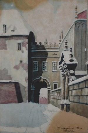 Mieczysław SZCZERBIŃSKI (1900?-1981), Wawel, 1931