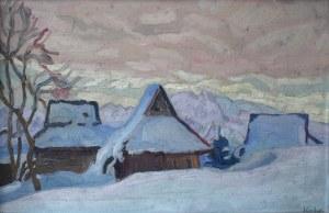Emil KRCHA (1894-1972), Wioska na Podhalu