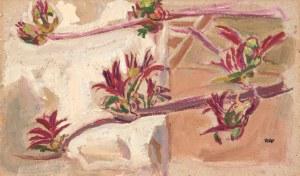 Wojciech WEISS (1875-1950), Wiosenne pąki, 1898