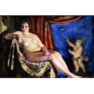 Irena WEISS – ANERI (1888-1981), Wenus i Amor z Księżycem, 1919