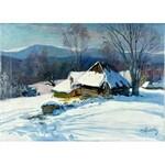 Michał STAŃKO (1901-1969), Pejzaż górski zimą