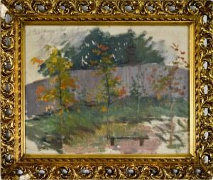 Józef CZAJKOWSKI(1872-1947), Pejzaż jesienny