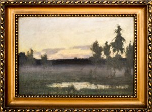 Stefan DOMARADZKI (1897-1983), Pejzaż przedwieczorny, 1929