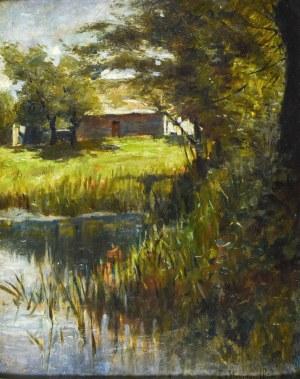 Leonard STROYNOWSKI (1858-1935), Pejzaż