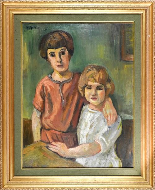 Henryk EPSTEIN (1891 - 1944), Dzieci, ok. 1924 r.