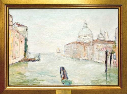 Włodzimierz TERLIKOWSKI (1873-1951), Wenecja - Widok na Bazylikę Santa Maria della Salute, 1925