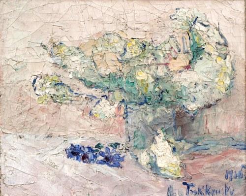 Włodzimierz TERLIKOWSKI (1873-1951), Bukiet kwiatów, 1916