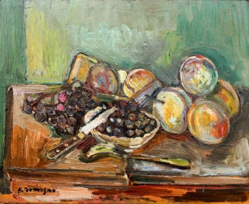 Pinchus KRÉMEGNE (1890-1981), Martwa natura z owocami
