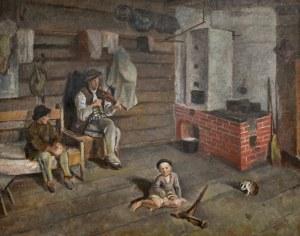 Henryk PLICH (1904-1986), W góralskiej chacie, 1933
