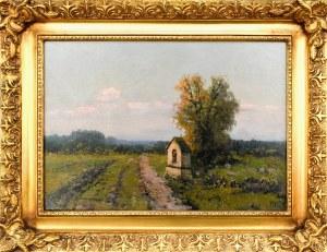 Wiktor KORECKI (1890-1980), Kapliczka przydrożna