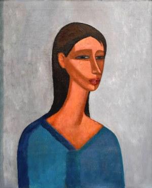 Roman ZAKRZEWSKI (1955-2014), Portret dziewczyny, 1986