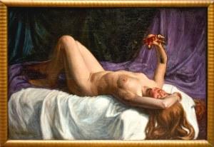 MALARZ NIEROZPOZNANY, Zabawa z pajacykiem, ok 1909