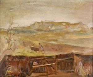 Zygmunt KRÓL(1899 - 1983), Pejzaż nad Wisłą